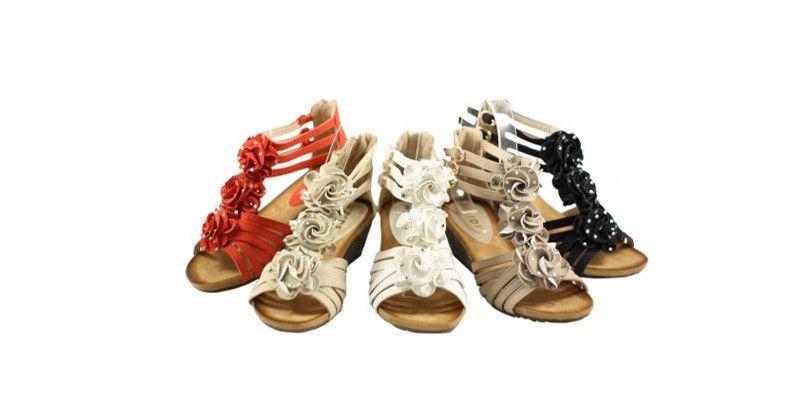 Heerlijke sandaaltjes nog volop verkrijgbaar