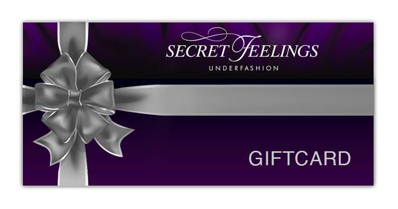 Secret Feelings Gift Card